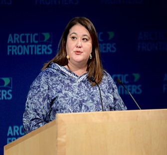 Tara Sweeney, Chair of the Arctic Council. (Photo: Pernille Ingebrigtsen/Arctic Frontiers 2016)
