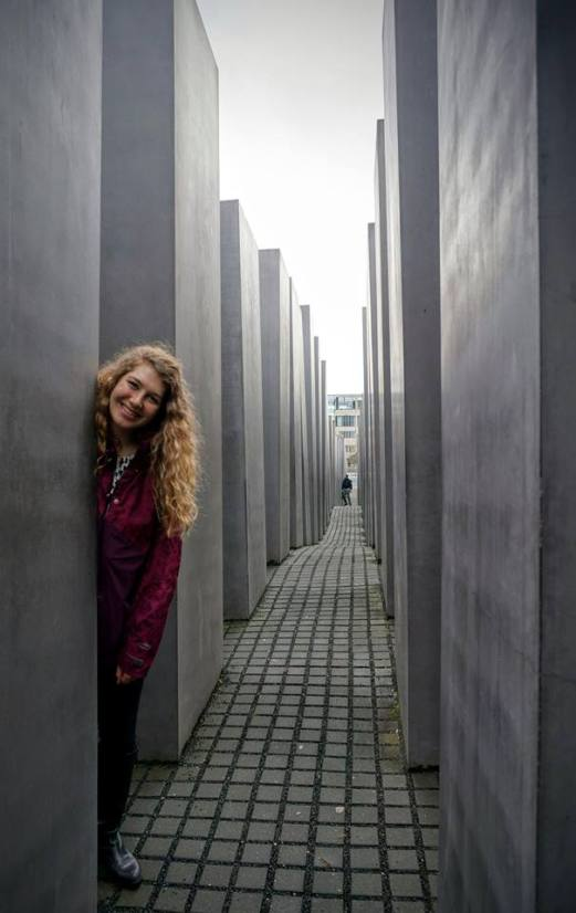 Holocaust memorial. Photo credit Kate Huebschmann.